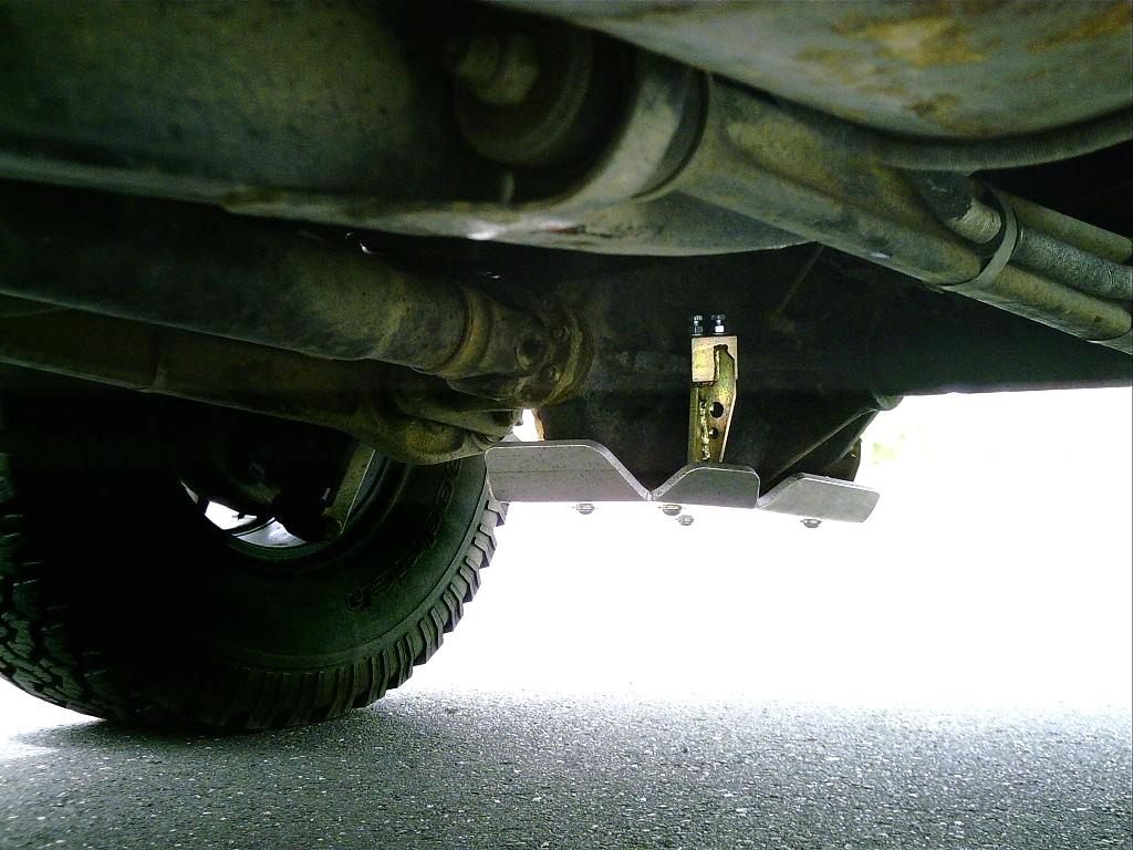 Diffschutz Mercedes G 463 hinten