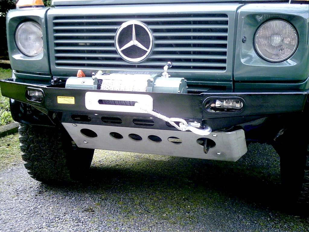 Seilwindenstoßstange Mercedes G