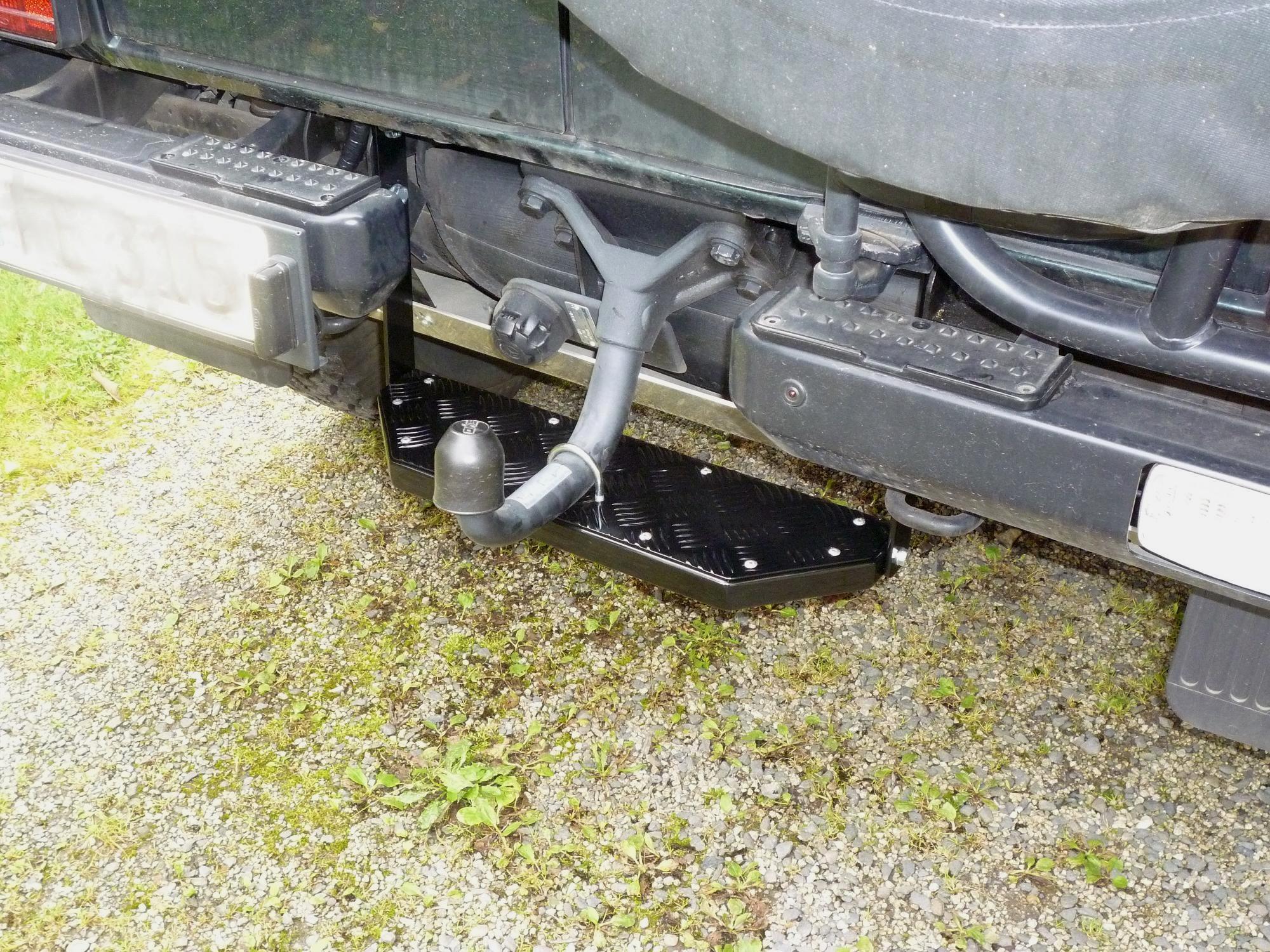 Einstiegshilfe Hecktür Mercedes G