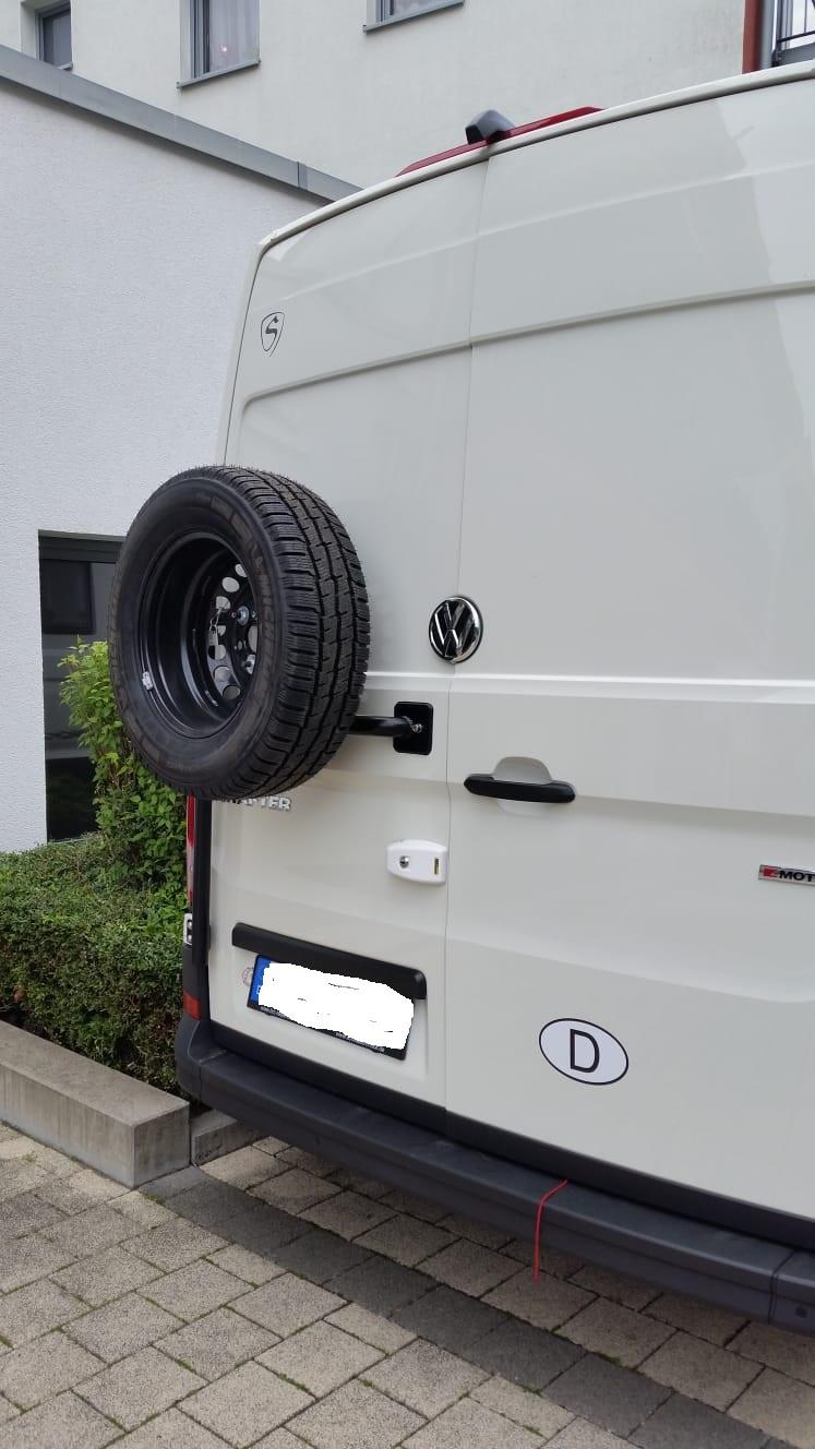 Ersatzradhalter VW Crafter