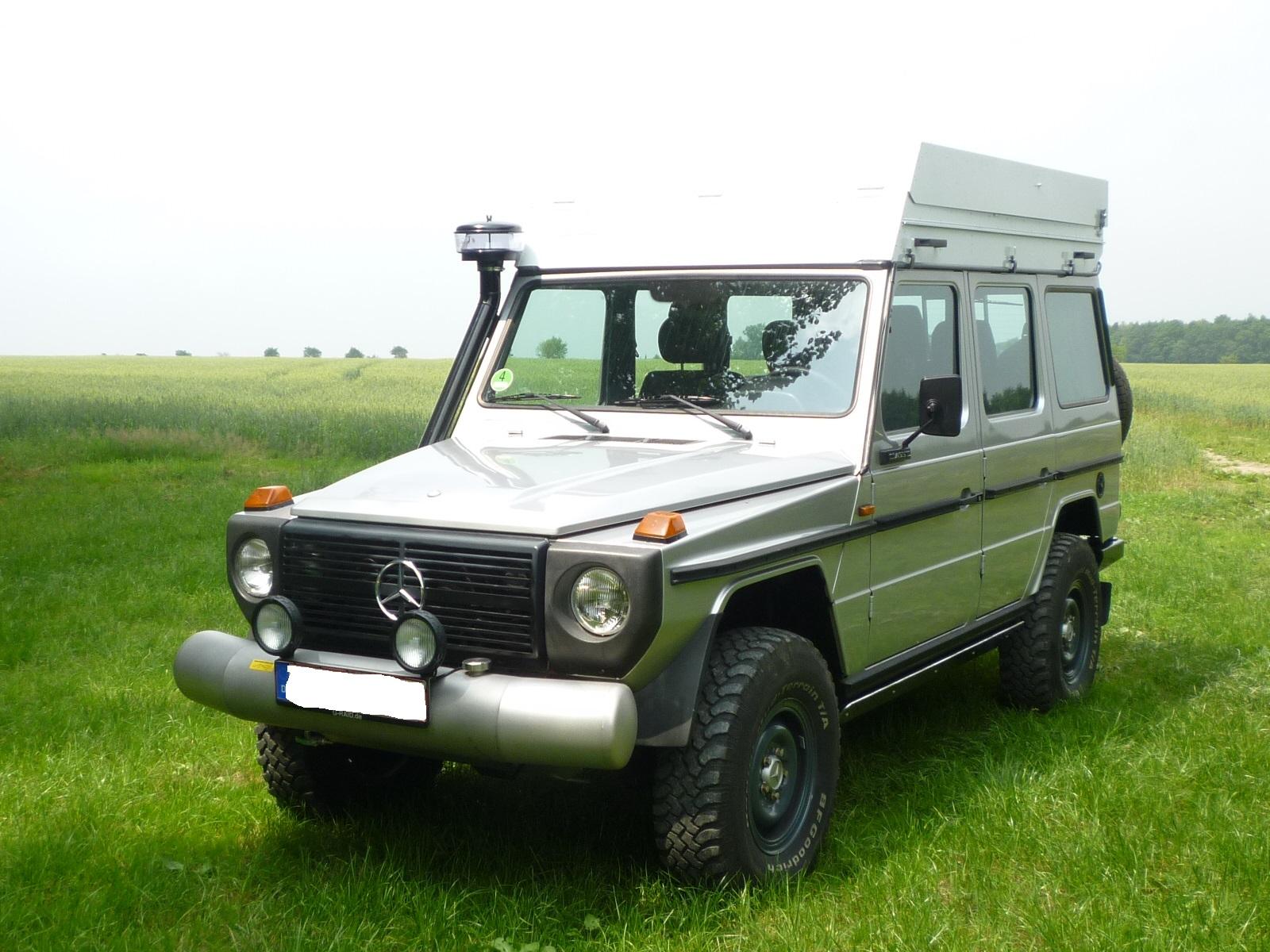 Wassertankstoßstange Edelstahl Mercedes G