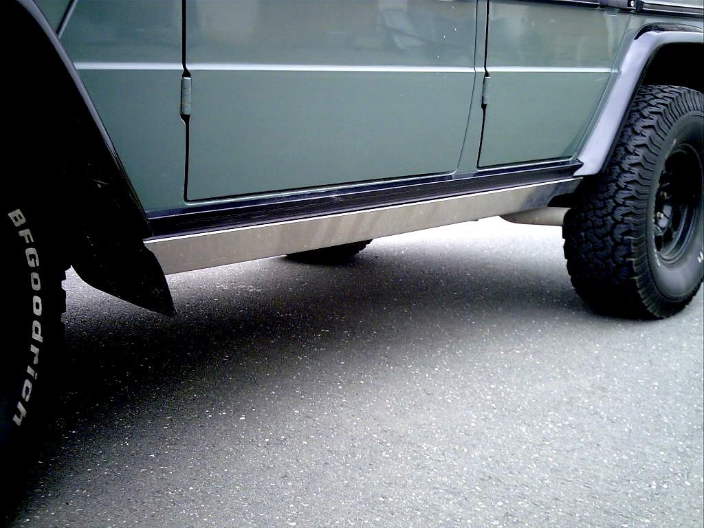 Schwellerschutz Mercedes G lang