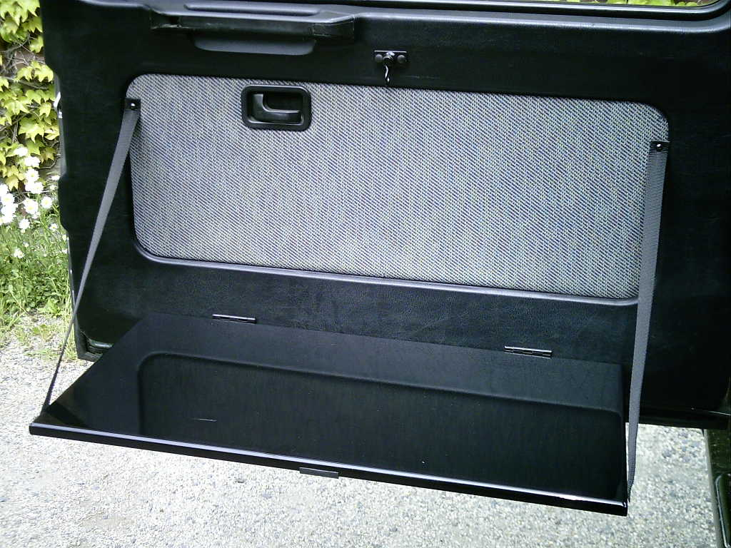 Klapptisch Hecktür Mercedes G